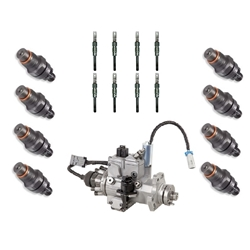 1994-2002-chevygmc-65l-fuel-injectors-glow-plugs-and-pump-set
