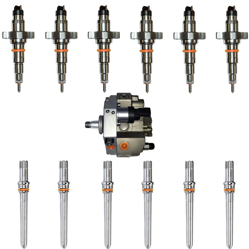 Changing Cummins Injectors: Diesel Injectors & CP3 Fuel Pump Set